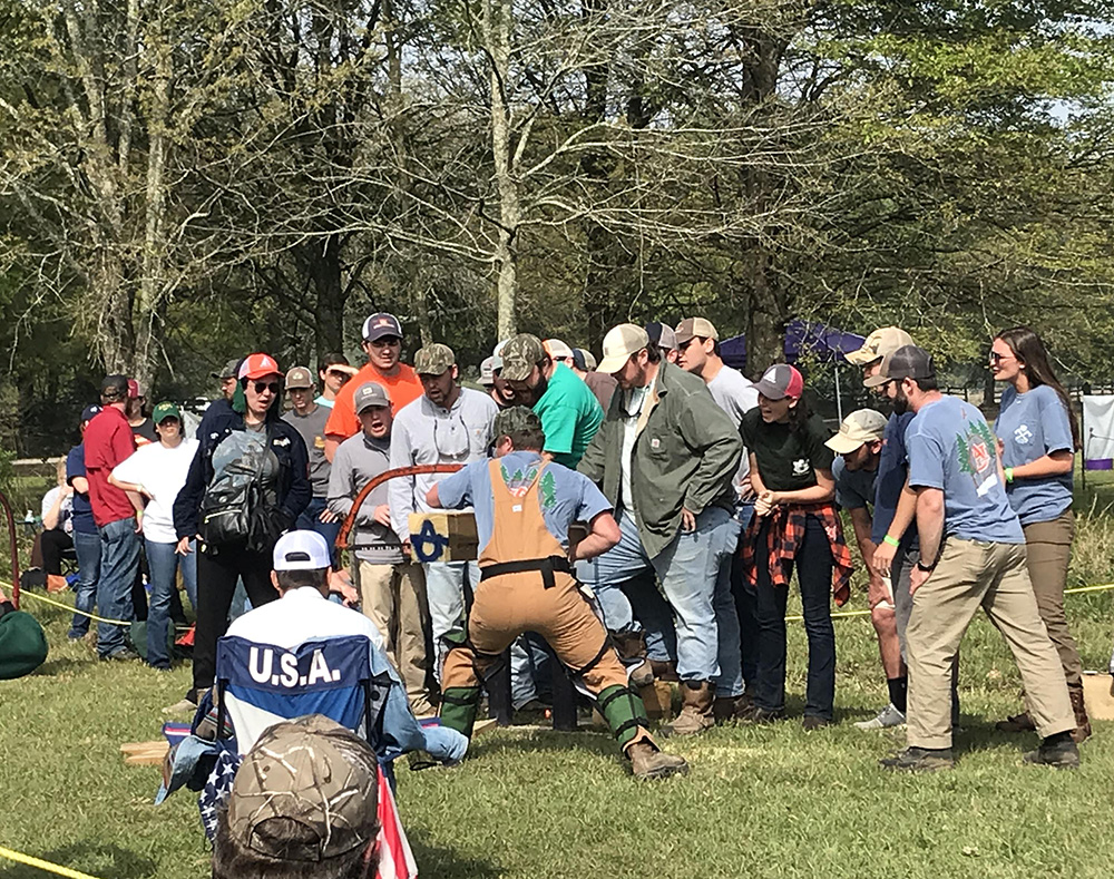 Axes, Saws and Running on Logs at Southern Forestry Conclave