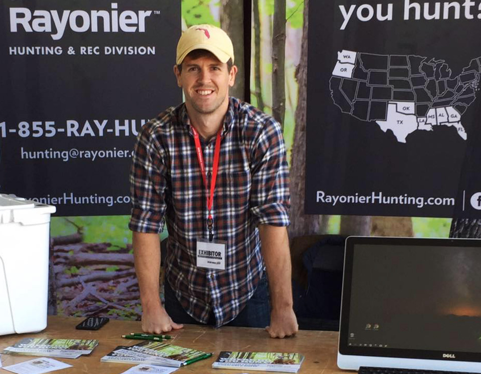 Rayonier Land Resources and Hunting Team
