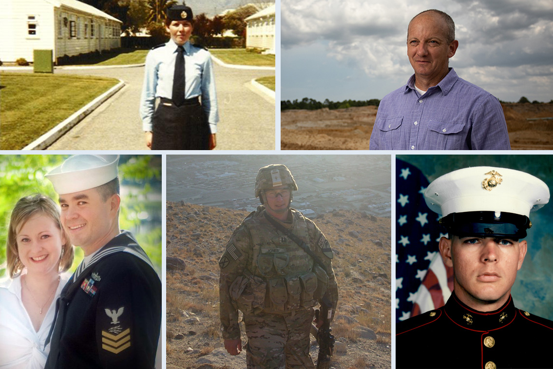 Rayonier employees who served in the military