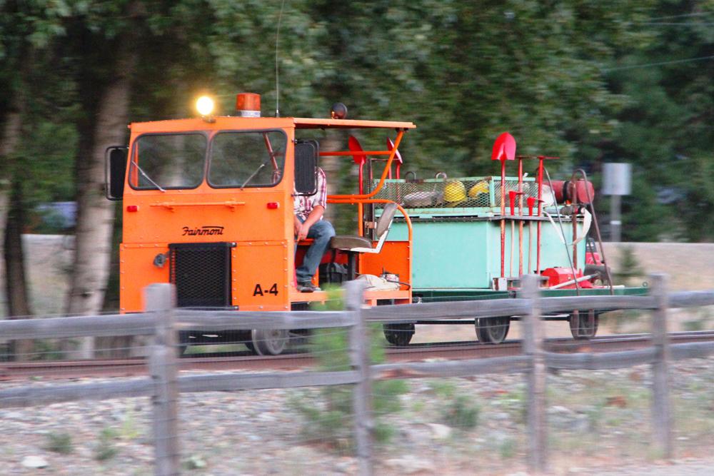 Railroad Maintenance Speeder