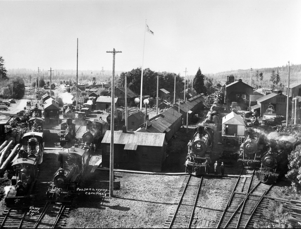 Rayonier Railroad Camp Polson