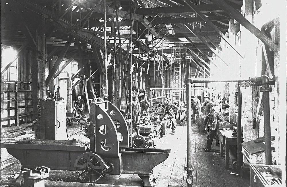 Polson Railroad Camp Machine Shop