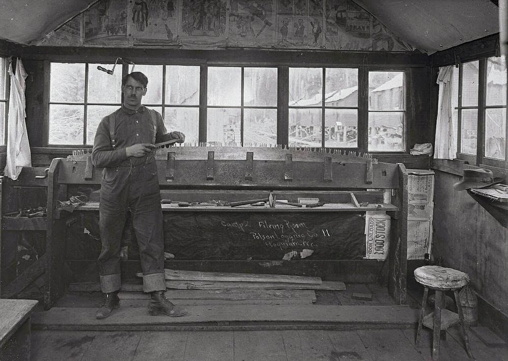 Filing Room Logging Camp