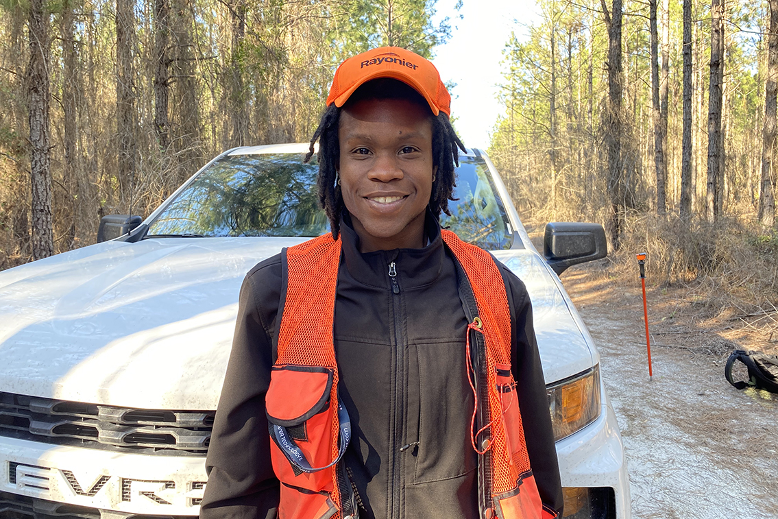 Forestry Puts Alabama A&M Grad In the Middle of the Action