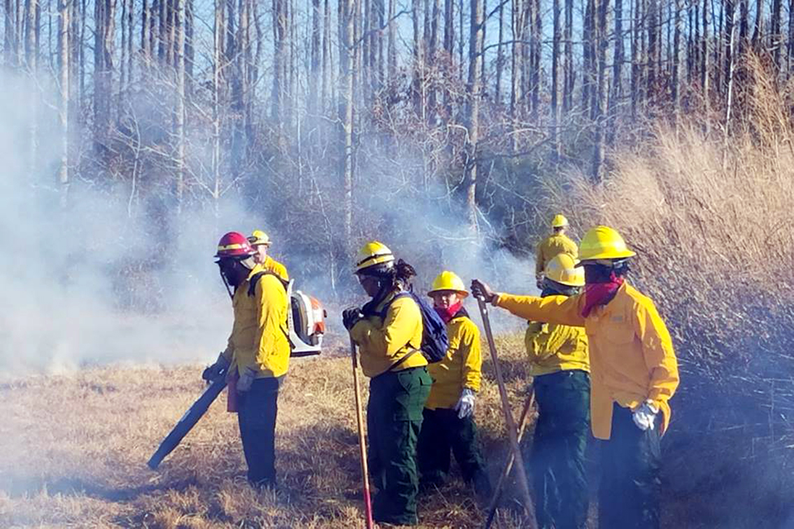 AAMU FireDawgs Fight and Prevent Alabama Wildfires