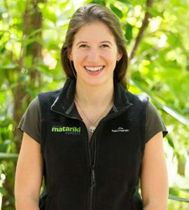 New Zealand Forester Sarah de Gouw